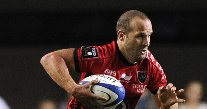 Fred Michalak: Toulon fly-half set to face his former club Toulouse