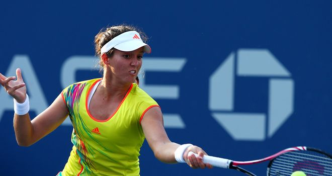 Laura Robson: Taking comfort from her two big wins at Flushing Meadows