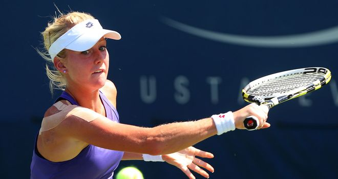 Urszula Radwanska: Progressed in Uzbekistan after a 6-4 7-5 victory over Maria Teresa Torro