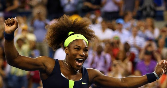 Champion: Serena fought hard for fourth title