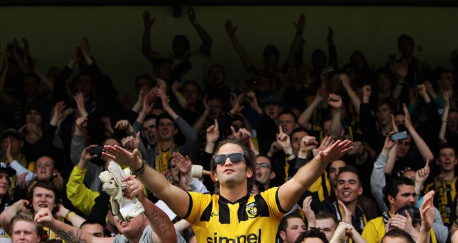 Vitesse Arnhem fans: Plenty to celebrate recently