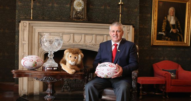Warren Gatland: Confident of a Lions success Down Under in 2013