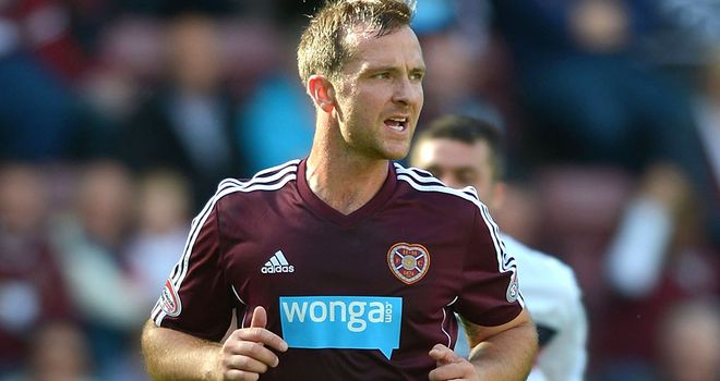 Andy Webster: Hearts defender is out of contract at the end of the season and could be sold in January