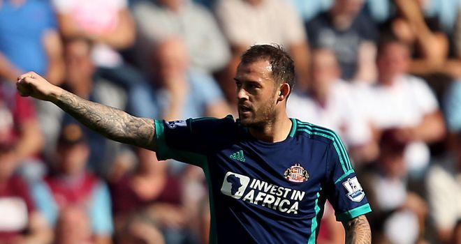 Steven Fletcher: Praised by Martin O'Neill and Jack Colback for what he has brought to Sunderland