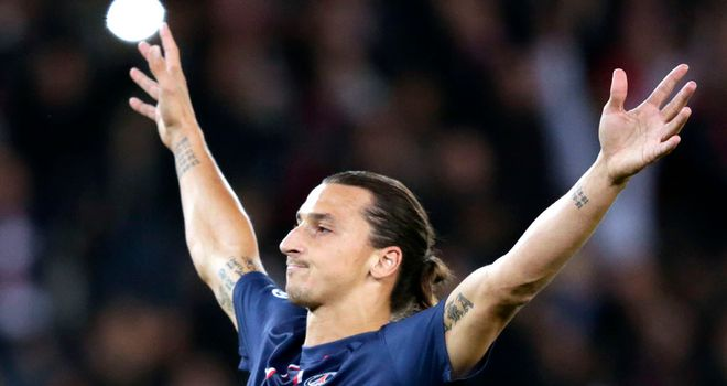 Zlatan Ibrahimovic: Scored for PSG in 4-0 success away to Bastia