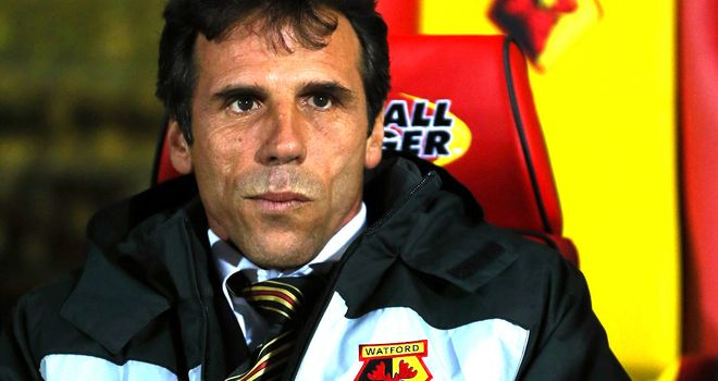 Gianfranco Zola: Feels Watford owners have had a positive effect