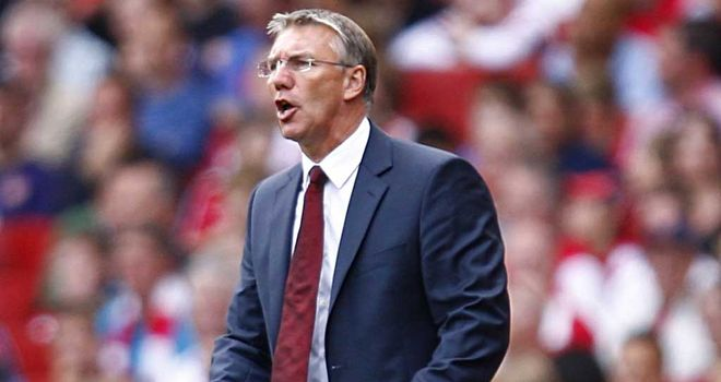 Nigel Adkins: Southampton manager is not worrying about his job and is happy with his relationship with Nicola Cortese