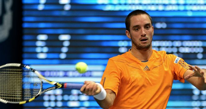 Viktor Troicki: Was beaten by Tunisian outsider Malek Jaziri