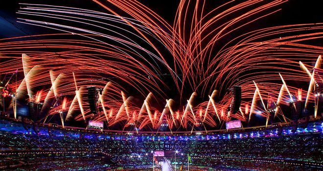 The closing ceremony at this year's Paralympics in London