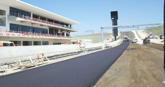 The new Circuit of the Americas will host MotoGP in 2013