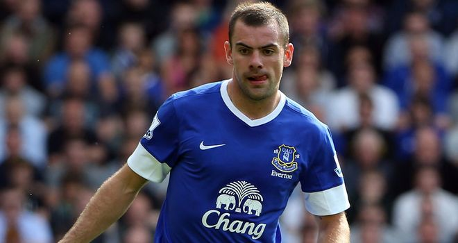 Darron Gibson: Establishing himself as a key member of the Everton side