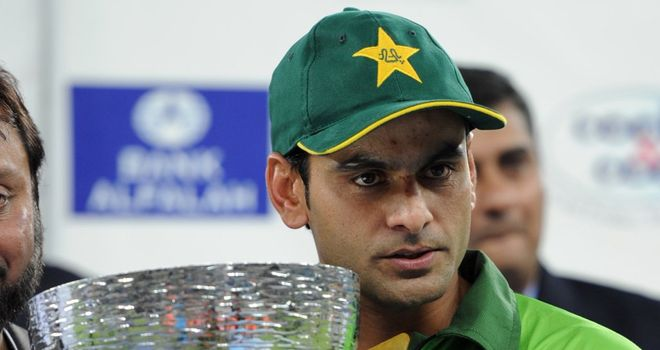 Mohammad Hafeez: Ended Twenty20 series with heavy defeat