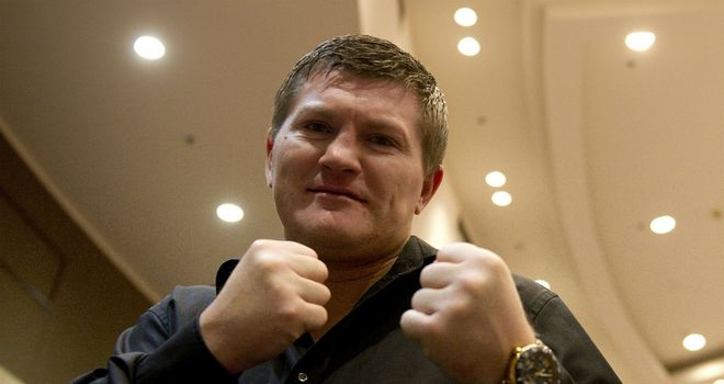 Ricky Hatton: Will return to the ring on November 24 in Manchester