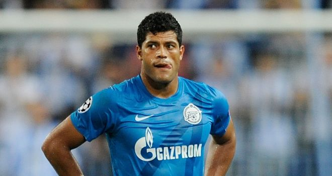 Hulk: The Brazilian star will relish Zenit St Petersburg's tie against Liverpool