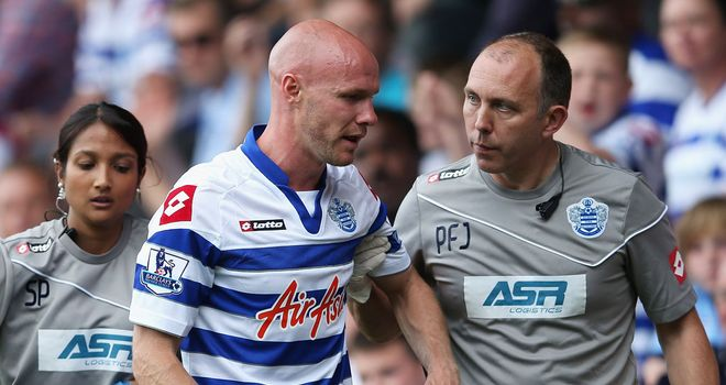 Andy Johnson: Has been ruled out with anterior cruciate ligament damage