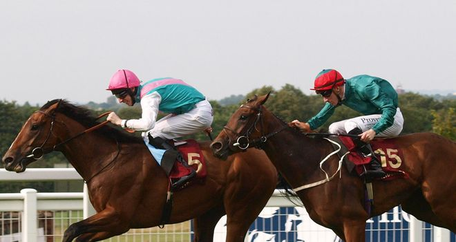 Labarinto fends off Prussian to complete a Sir Michael Stoute double