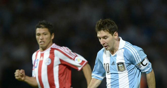Lionel Messi: Impressed in Argentina's World Cup qualifying win over Paraguay
