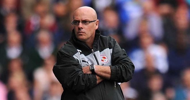 Brian McDermott: The Reading boss has had to defuse a social media situation involving Adam Federici