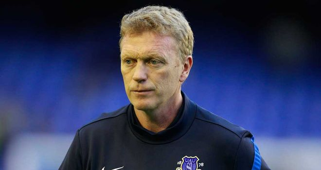 David Moyes: Delighted to win the Manager of the Month award for September