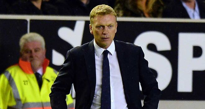 David Moyes: Everton boss watched his side go down 2-1 to Leeds at Elland Road