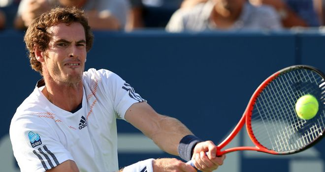 Andy Murray: Through to his fifth Grand Slam final on Monday