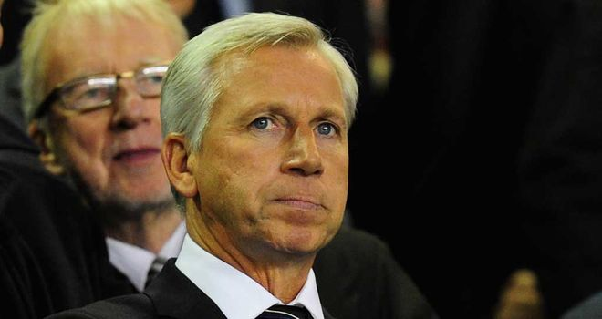 Alan Pardew: Has praised Chris Hughton for the solid foundations he laid during his time as Newcastle manager