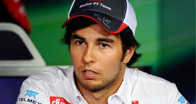 Sergio Perez: Says he hasn't been approached by a top team for 2013