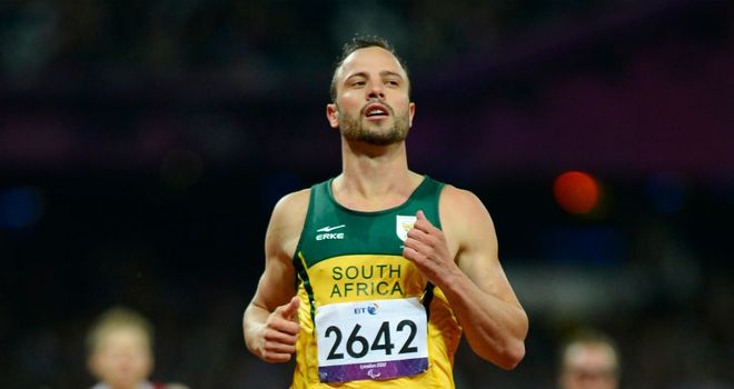 Oscar Pistorius: beaten to T44 200 metres gold by Brazil's Alan Fonteles Oliveira