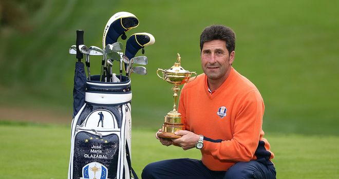 Jose Maria Olazabal: Unwilling to discuss pairings