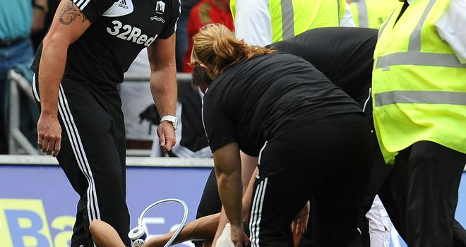Neil Taylor: Swansea defender injured against Sunderland