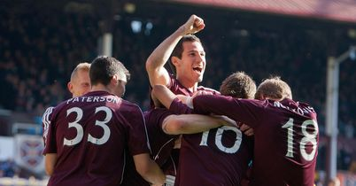 Danny Grainger: Scored only goal for Hearts