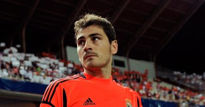 Iker Casillas: Set to miss both legs of Champions League tie with United