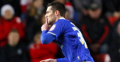 David Nugent started Leicester rout