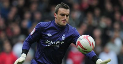 Lee Camp: Set to sign at Norwich after leaving Forest