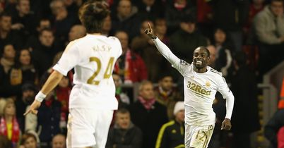 Nathan Dyer: Netted second for the Swans