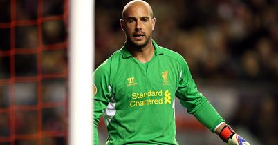 Pepe Reina: Back in action for Liverpool