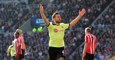 Yohan Cabaye: Celebrates scoring for Newcastle in October's derby game