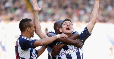 Gera: Arguably the catalyst for Albion's flying start