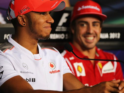 Lewis Hamilton: Says he and Fernando are now 'equals'