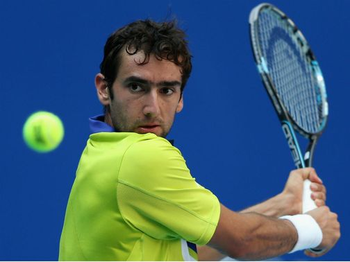 Cilic: Victorious against compatriot Dodig