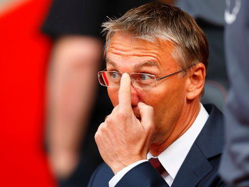 Nigel Adkins: Takes responsibility after West Ham defeat