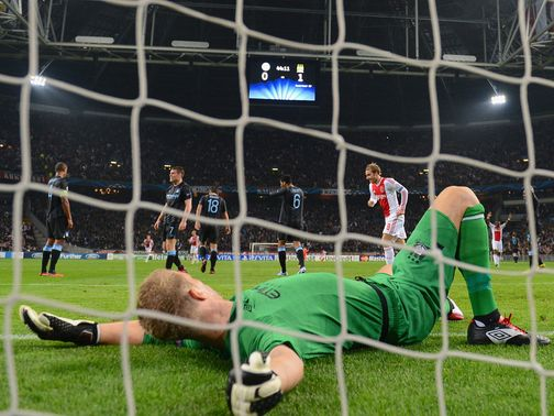 Ajax defeated Manchester City 3-1