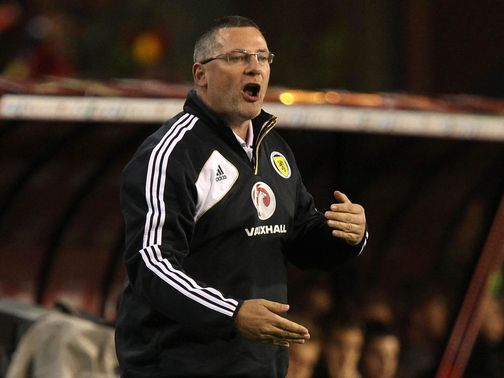 Craig Levein: Axed after run of poor results