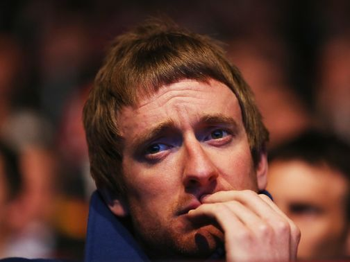 Bradley Wiggins: Recovering at home