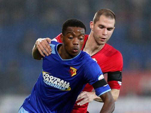 Nathaniel Chalobah holds off Matthew Connolly