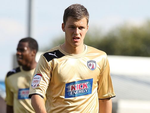 Chris Atkinson: Hit the winner for Chesterfield
