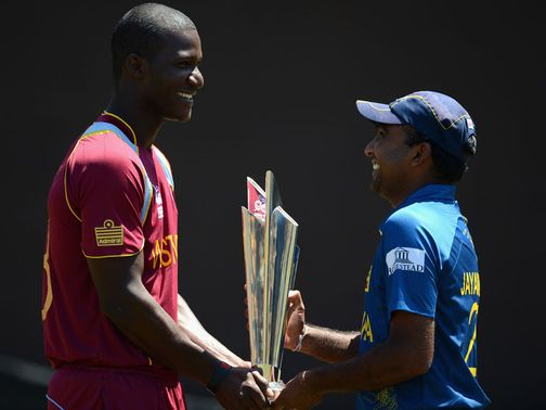 Sammy and Jayawardene will fight for the trophy on Sunday