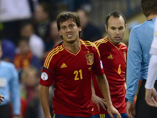 David Silva: Taken off early