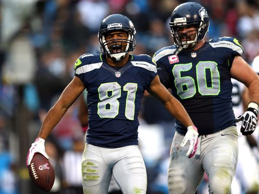 Golden Tate (81): Touchdown for the Seahawks