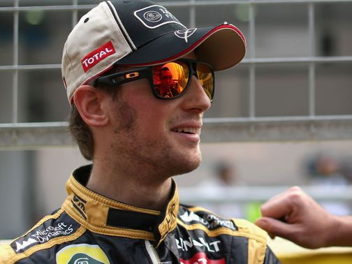 Romain Grosjean: Staying with Lotus